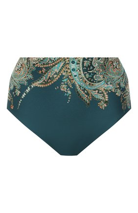 Женский плавки-бикини ZIMMERMANN темно-зеленого цвета, арт. 9696WBRGB | Фото 1