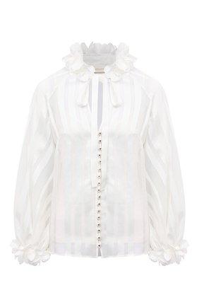 Женская блузка ZIMMERMANN белого цвета, арт. 9726TAND | Фото 1