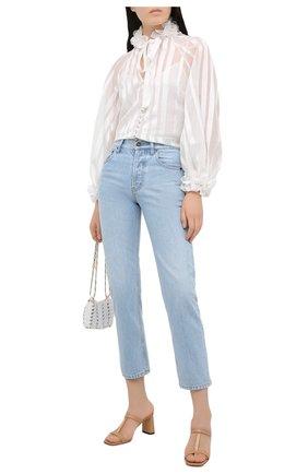 Женская блузка ZIMMERMANN белого цвета, арт. 9726TAND | Фото 2