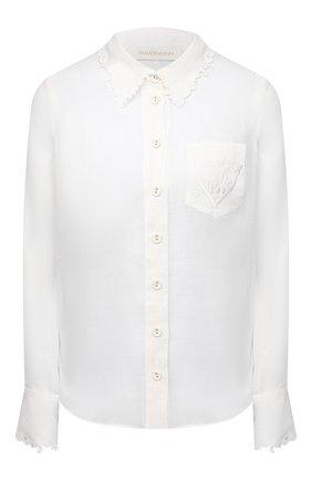 Женская блузка ZIMMERMANN белого цвета, арт. 9760TAND | Фото 1
