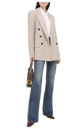 Женская блузка ZIMMERMANN белого цвета, арт. 9760TAND | Фото 2