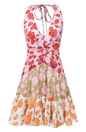 Женское льняное платье ZIMMERMANN разноцветного цвета, арт. 9770DAND | Фото 1