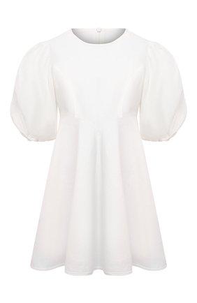 Женское льняное платье ZIMMERMANN белого цвета, арт. 9789DRAND/NAT | Фото 1