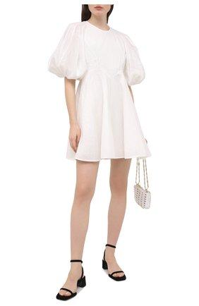 Женское льняное платье ZIMMERMANN белого цвета, арт. 9789DRAND/NAT | Фото 2