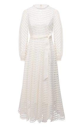 Женское платье ZIMMERMANN белого цвета, арт. 9836DP0P | Фото 1