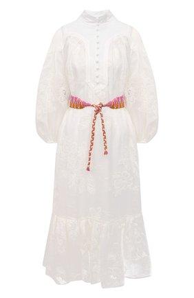Женское платье ZIMMERMANN белого цвета, арт. 9856DRID | Фото 1