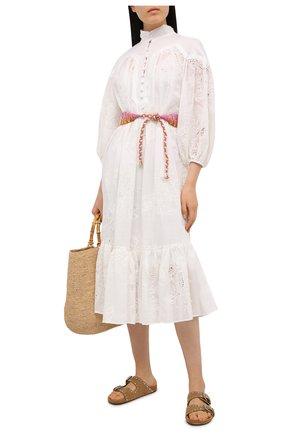 Женское платье ZIMMERMANN белого цвета, арт. 9856DRID | Фото 2