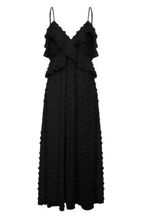 Женское платье ZIMMERMANN черного цвета, арт. 9858DRAND | Фото 1