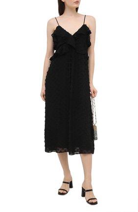 Женское платье ZIMMERMANN черного цвета, арт. 9858DRAND | Фото 2