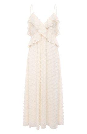 Женское платье ZIMMERMANN белого цвета, арт. 9858DRAND | Фото 1