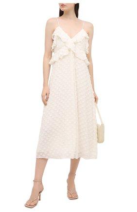 Женское платье ZIMMERMANN белого цвета, арт. 9858DRAND | Фото 2