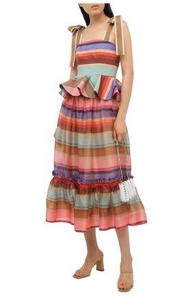 Женский хлопковый топ ZIMMERMANN разноцветного цвета, арт. 9944TAND | Фото 2