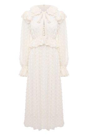 Женское платье ZIMMERMANN белого цвета, арт. 9948DRAND | Фото 1