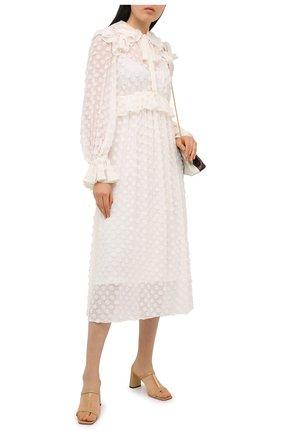 Женское платье ZIMMERMANN белого цвета, арт. 9948DRAND | Фото 2