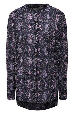 Женская хлопковая рубашка ISABEL MARANT ETOILE фиолетового цвета, арт. CH0238-21P031E/MEXIKA | Фото 1