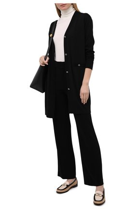 Женские брюки из вискозы ISABEL MARANT черного цвета, арт. PA1890-21P011I/S0R0KIA   Фото 2