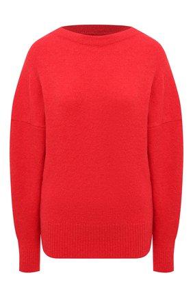 Женский шерстяной свитер ISABEL MARANT ETOILE красного цвета, арт. PU1525-21P057E/HALDEN | Фото 1