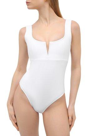 Женский слитный купальник OYE белого цвета, арт. VERA | Фото 2
