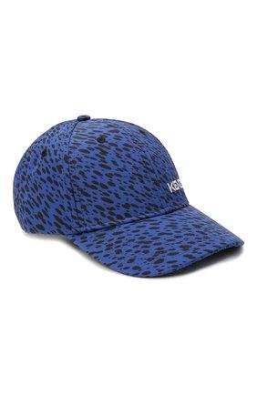 Женская бейсболка KENZO синего цвета, арт. FB55AC901F31 | Фото 1