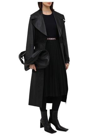 Женская юбка VETEMENTS черного цвета, арт. WE51SK400B 1210/BLACK | Фото 2