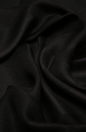 Женская шаль GIVENCHY черного цвета, арт. GW1414/J4235   Фото 2