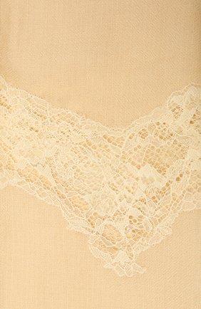 Женская шерстяная шаль VINTAGE SHADES желтого цвета, арт. 8999   Фото 2