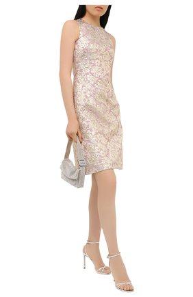 Женское платье DOLCE & GABBANA золотого цвета, арт. F6G4AT/HJMLB | Фото 2