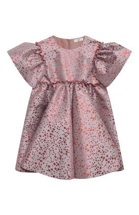 Детское платье red stars ZHANNA & ANNA розового цвета, арт. ZAR12112020 | Фото 1