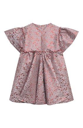 Детское платье red stars ZHANNA & ANNA розового цвета, арт. ZAR12112020 | Фото 2