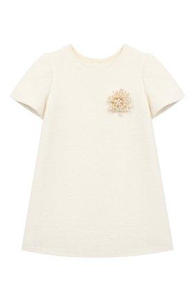 Детское платье grace ZHANNA & ANNA белого цвета, арт. ZAI17122020 | Фото 1