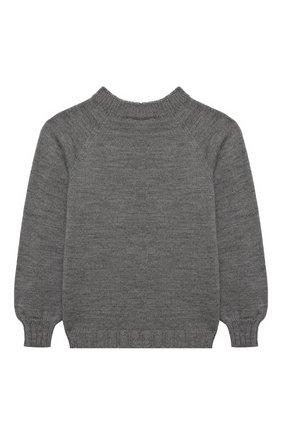 Детский пуловер ZHANNA & ANNA серого цвета, арт. ZAG12122020 | Фото 2