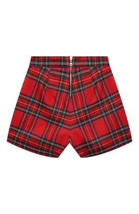 Детские шорты BALMAIN красного цвета, арт. 6O6149 | Фото 2