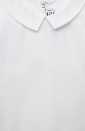 Детское хлопковое боди TARTINE ET CHOCOLAT белого цвета, арт. TS11031/18M-3A   Фото 3