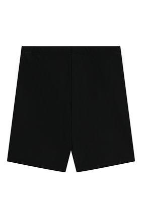 Детские шорты VERSACE черного цвета, арт. 1000041/1A00018/8A-14A | Фото 2