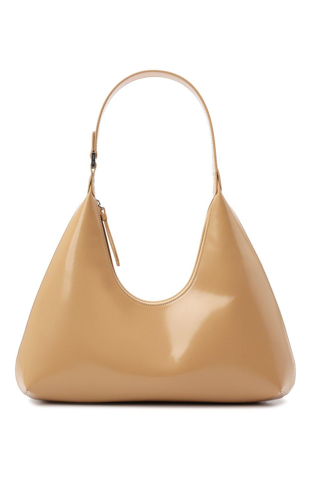 Женская сумка amber large BY FAR бежевого цвета, арт. 20PFAMRSCEWLAR | Фото 1