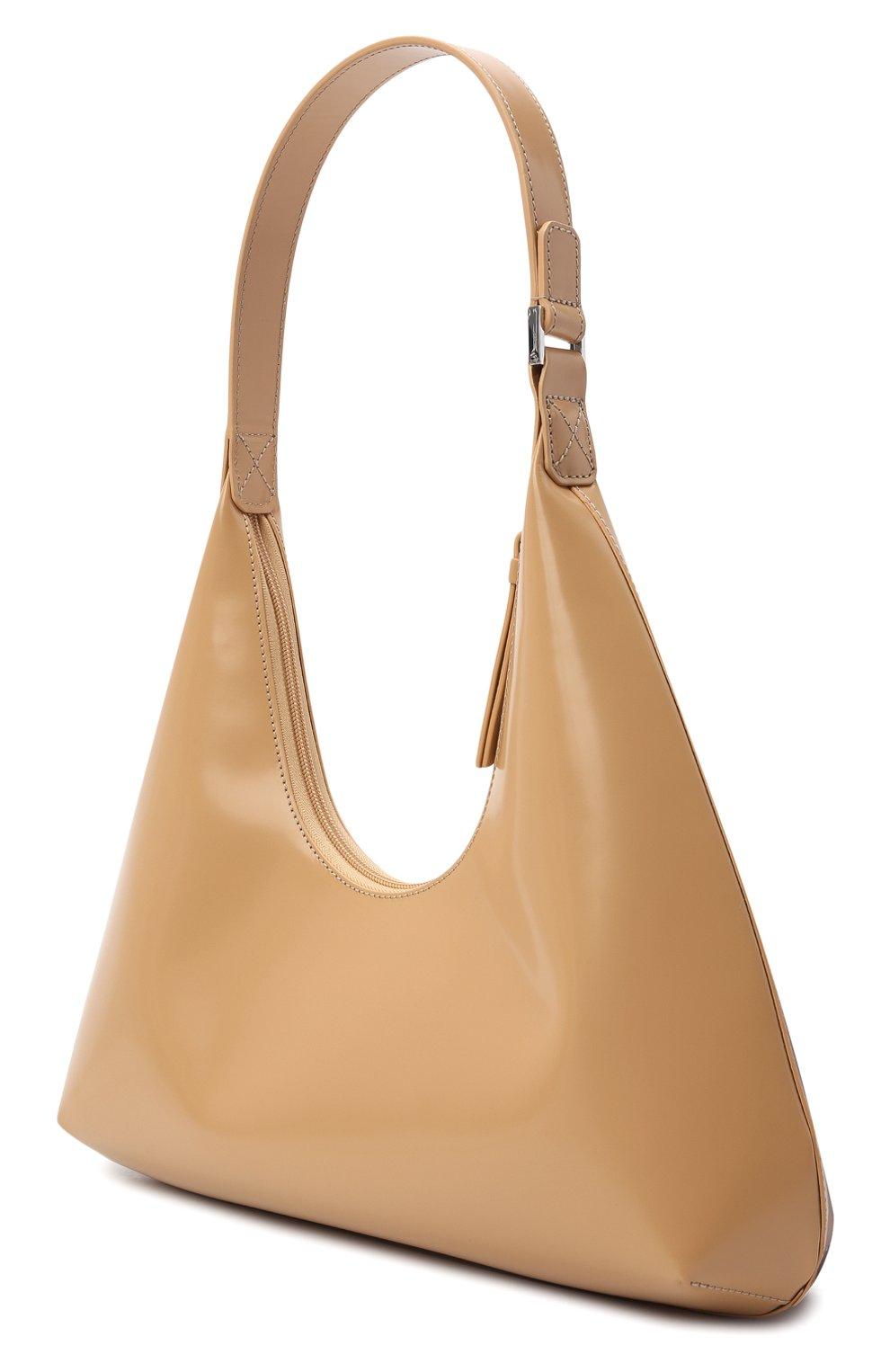 Женская сумка amber large BY FAR бежевого цвета, арт. 20PFAMRSCEWLAR | Фото 3