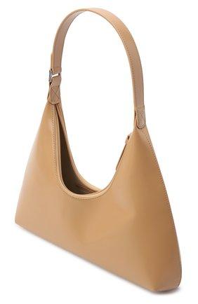 Женская сумка amber large BY FAR бежевого цвета, арт. 20PFAMRSCEWLAR | Фото 4
