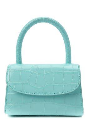 Женская сумка BY FAR бирюзового цвета, арт. 21CRMINAAQUDSMA   Фото 1