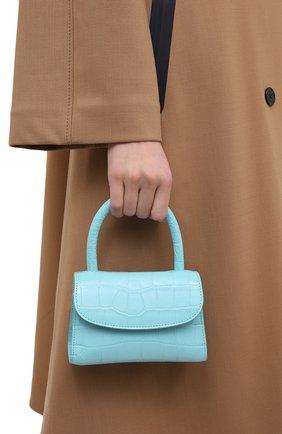 Женская сумка BY FAR бирюзового цвета, арт. 21CRMINAAQUDSMA   Фото 2
