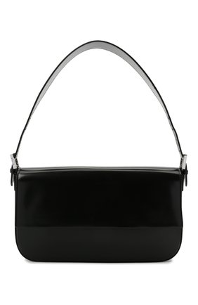 Женская сумка manu BY FAR черного цвета, арт. 21CRMNSBLWMED | Фото 1