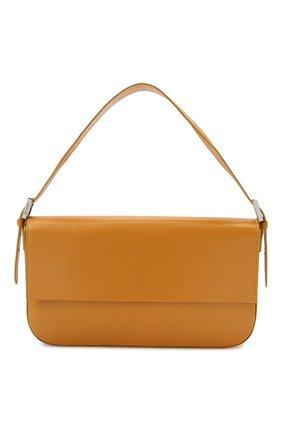 Женская сумка manu BY FAR оранжевого цвета, арт. 21CRMNSHNGLSMED | Фото 1