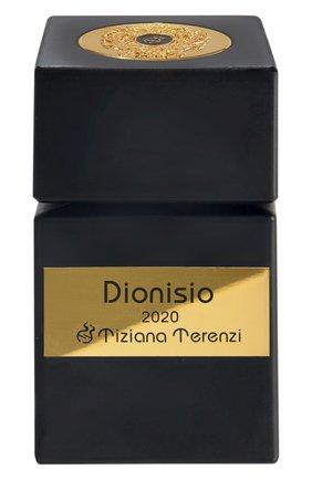 Женский духи dionisio 2020 юбилейная коллекция TIZIANA TERENZI бесцветного цвета, арт. 8016741662614 | Фото 1
