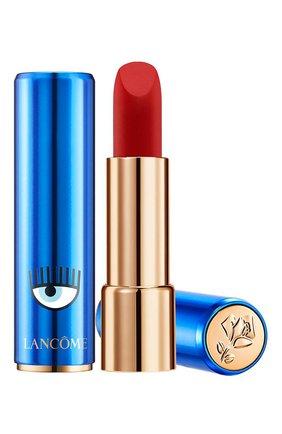 Помада для губ с ультраматовой текстурой, 505 lancome x chiara ferragni LANCOME бесцветного цвета, арт. 3614273228213 | Фото 1