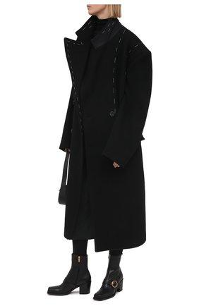 Женские кожаные ботильоны wayne GIANVITO ROSSI черного цвета, арт. G73321.60CU0.VITNER0 | Фото 2