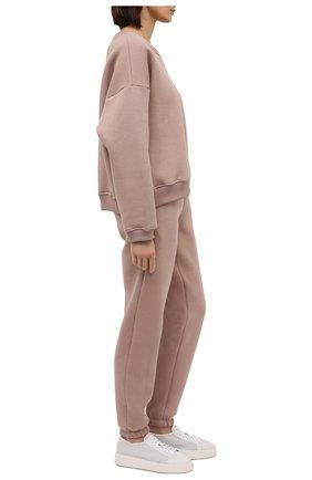 Женские кожаные кеды SANTONI белого цвета, арт. WBCD60791BARCDRKI50 | Фото 2