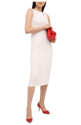 Женские кожаные туфли valentino garavani vlogo VALENTINO красного цвета, арт. VW2S0R78/MZF | Фото 2