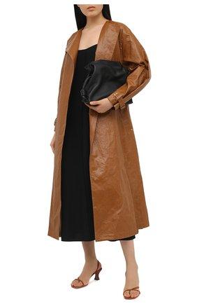 Женские кожаные босоножки borealis NEOUS коричневого цвета, арт. 00271N18 | Фото 2