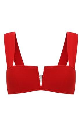 Женский бра-бандо OYE красного цвета, арт. VICT0RIA L0W RISE B0TT0M | Фото 1