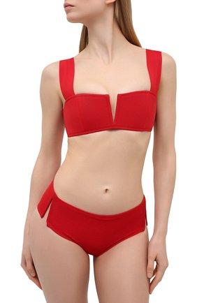 Женский бра-бандо OYE красного цвета, арт. VICT0RIA L0W RISE B0TT0M | Фото 2