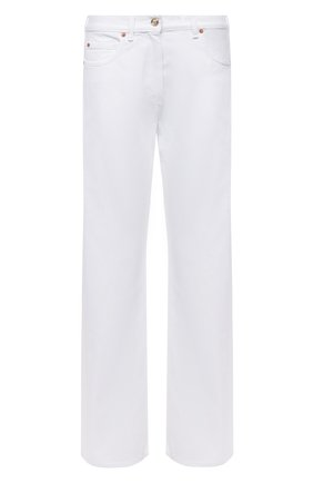 Женские джинсы VALENTINO белого цвета, арт. VB3DD11H69F | Фото 1